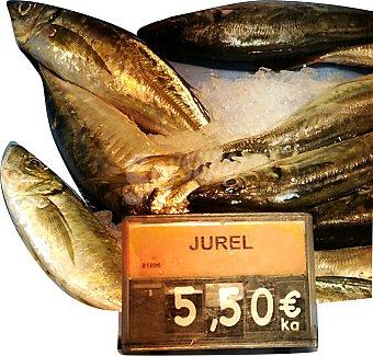 Jurel fresco pequeño entero (preparado: destripado) granel 300 g peso aprox.