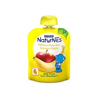 Naturnes Nestlé Manzana y plátano pouch 90 g