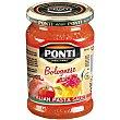 Salsa boloñesa frasco 280 g Ponti