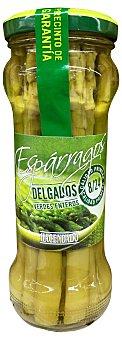 CIDACOS Espárrago verde largo delgado conserva Tarro de 125 g escurrido