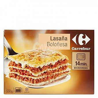 Carrefour Lasaña boloñesa 500 G 500 g