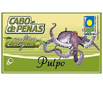 Cabo de Peñas Pulpo en aceite de oliva virgen extra ecológico 65 gramos
