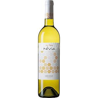 NIVIA Vino blanco D.O. Empordá Botella de 75 cl