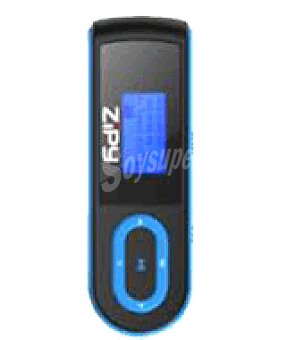 Zipy MP3 guppy 2GB azul