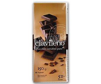 Clavileño Chocolate Puro Extrafino 3 Unidades de 150 Gramos