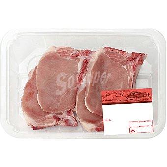 AVINYO Chuletas de lomo de cerdo Bandeja de 400 g peso aprox. (4-5 unidades)