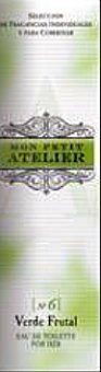 Mon Petit Atelier Eau toilette mujer verde frutal vaporizador Botella 20 cc