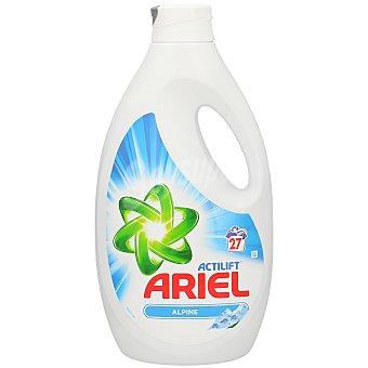 Ariel Detergente líquido Frescor Alpes Botella de 27 dosis