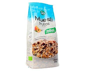 Santiveri Muesli de cereales ecológicos y albaricoque 500 gramos