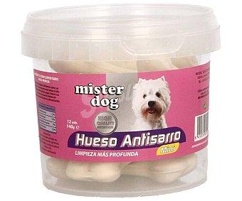 Mister dog Huesos dentales antisarro para perros de talla mini 140 gr