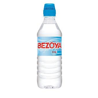 BEZOYA agua mineral natural de mineralización muy débil tapón Sport botella 50 cl