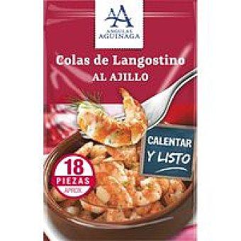 Angulas Aguinaga Colas de langostino al ajillo Sobre 105 g