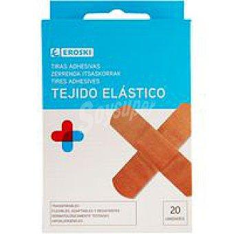 Eroski Apósitos tejido elástico Caja 20 unid
