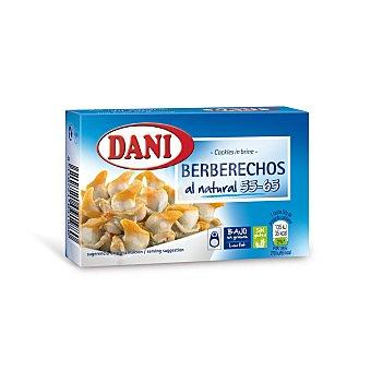 Dani Berberechos al natural 55/65 piezas lata 58 grs Lata 58 grs