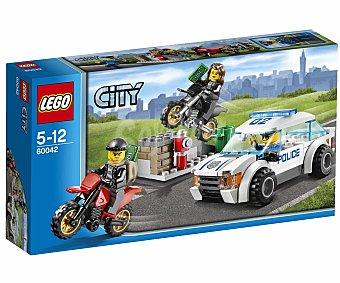 LEGO Juego de Construcciones City Police, Persecución Policial a Toda Velocidad, Modelo 60042 1u