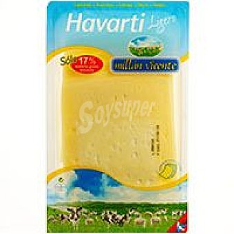 M. Vicente Queso Havarti light Bandeja 150 g