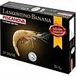 Langostino Banana 20/30 piezas Caja 1 kg Pescanova