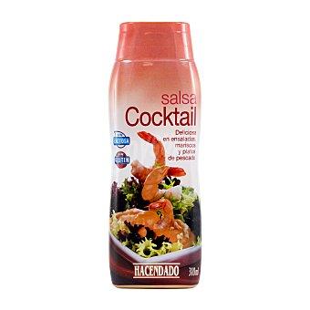 Hacendado Salsa rosa cocktail Bote 310 cc
