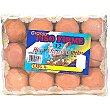 huevos canelos M estuche 12 unidades PISO FIRME