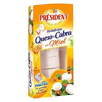 President Medallones de queso de cabra de miel 100 g