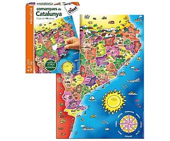 Diset Puzzle educativo la comarcas de Catalunya en catalán, DISET.