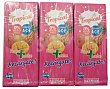 Frutas+leche tropical (brick rosa) Pack 6 x 200 cc - 1200 cc Hacendado
