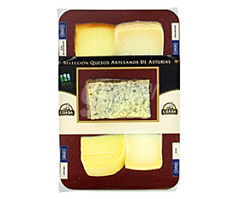 Coasa Tabla Quesos Artesanos de Asturias Mini 275 Gramos