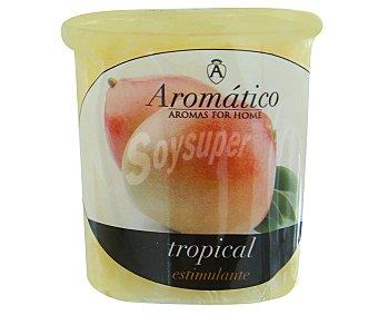 AROMÁTICO Vela perfumada con olor intenso de mango tropical 1 Unidad