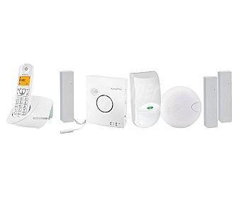 ALCATEL PHONE ALERT PREMIUM Sistema de vigilancia conectado, detecta: intrusión, movimiento, humo e inundación. Aviso mediante llamada telefónica, email o notificación