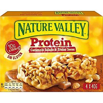 Nature Valley Protein barritas de caramelo salado y frutos secos Estuche 160 g