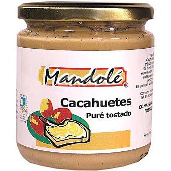 Mandole Crema de cacahuete tostado ecológico Envase 325 g