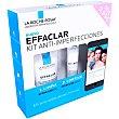 Effaclar Kit Anti-imperfecciones Effaclar Gel purificante 100 ml + Effaclar Duo (+) 15 ml 1 unidad 100 ml La Roche-Posay
