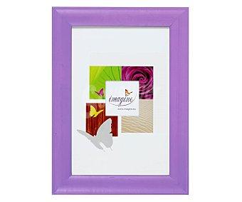 IMAGINE Portafotos de color violeta modelo Fiesta, para fotografias de tamaño 13x18 1 Unidad