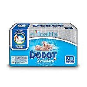 Dodot Dodot Sensitive Toallitas Paquete 120 unid