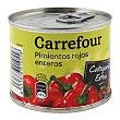 Pimientos rojos enteros 185 g Carrefour