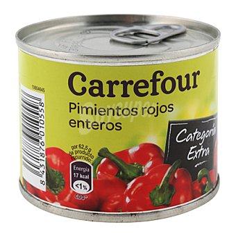 Carrefour Pimientos rojos enteros 185 g