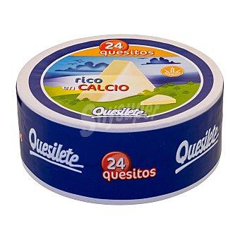 Quesilete Queso porciones 24 U Caja 375 g