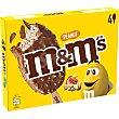 Bombón helado de chocolate y cacahuetes 4 unidades Estuche 248 g M&M's