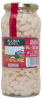 Hacendado Alubia cocida blanca Tarro 570 g escurrido