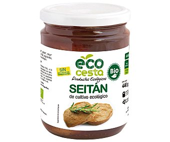 Ecocesta Seitán cultivo ecológico Bote de 440 Gramos