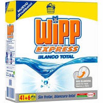 Wipp Express Detergente en polvo blanco Maleta 41 cacitos