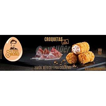 LA COCINA DE SENÉN Croquetas de jamón ibérico y pan crujiente sin gluten Estuche 200 g