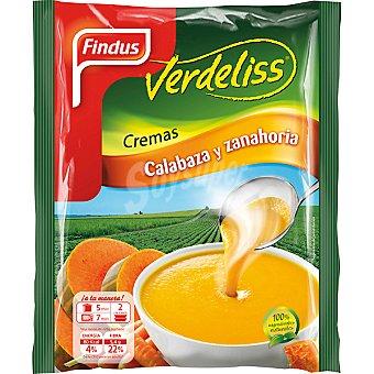 Findus Crema calabaza y zanahoria Verdeliss 450 g