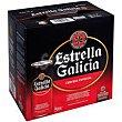 Cerveza especial Pack 16x33 cl Estrella Galicia