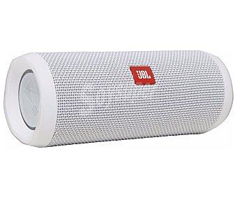 JBL Mini altavoz FLIP4 por batería, 16W rms, Bluetooth, color blanco por batería, 16W rms, Bluetooth, color blanco