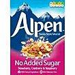 Muesli sin azúcar strawberry-cranbrerry-raspb. alpen, caja 560 G Caja 560 g Alpen