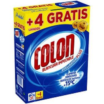 Colón Detergente en polvo Maleta 31+4 cacitos