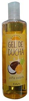 DELIPLUS Gel baño piña colada (perfume piña y coco) Botella 400 cc