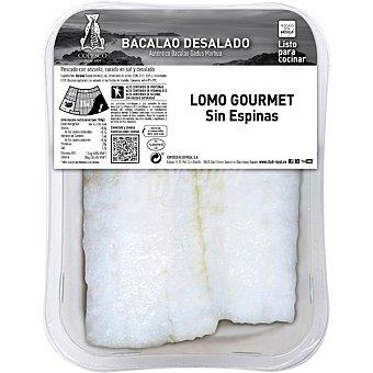 COPESCO Lomos de bacalao desalado sin espinas peso aproximado Bandeja 350 g