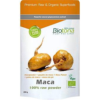 BIOTONA Superboost vitalidad física y mental 100% polvo puro Bio  Envase 200 g